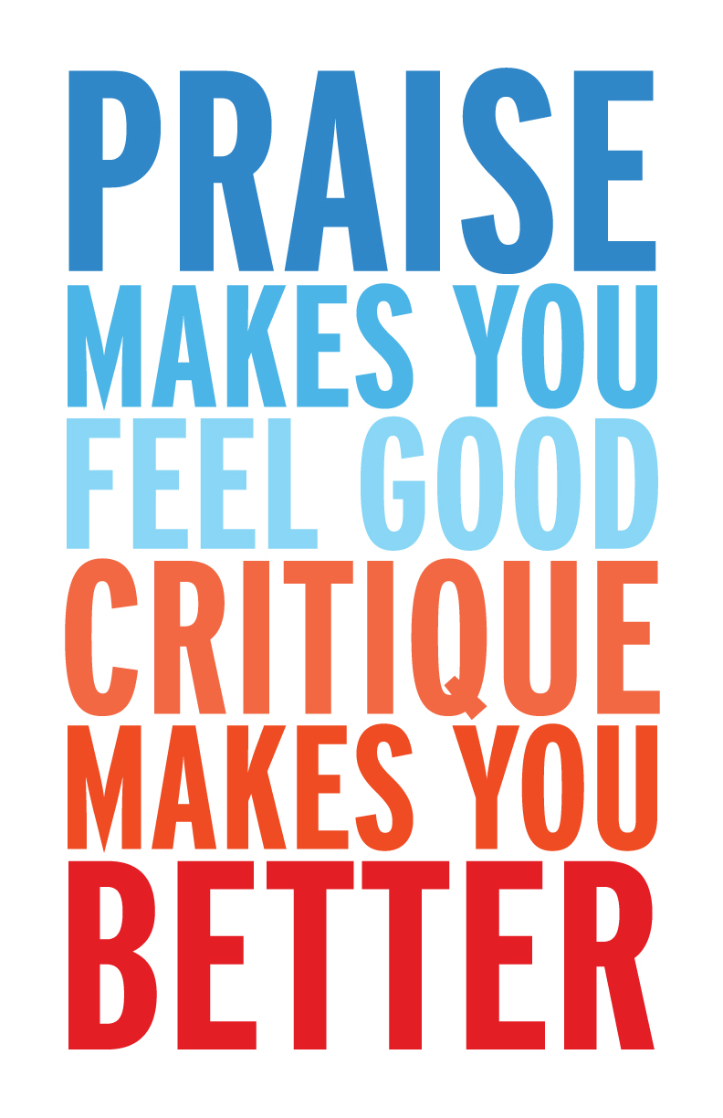 How to Accept Criticism